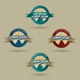 Pizzeria logo concept Royalty Free Stock Photos