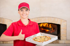 Pizzeria Stock Image