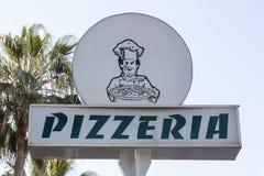 Pizzeria Royalty Free Stock Photo