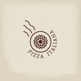 Pizzeria vector logo template Stock Photography