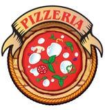 Pizzeriaikone Stockfoto
