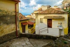 Pizzo, Calabria, Itália sul fotos de stock