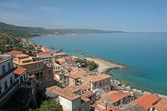 Pizzo Calabria, Italien. Fotografering för Bildbyråer