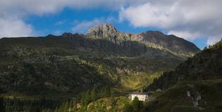 Free Pizzo Del Becco Peak On The Bergamo Alps Royalty Free Stock Photography - 99273207