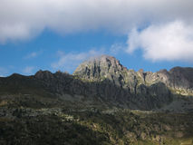Pizzo Del Becco szczyt na Bergamo Alps Obrazy Stock