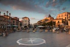 Pizzo, miasteczko w Włochy obraz stock