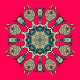 Pizzo rotondo ornamentale Fotografie Stock Libere da Diritti
