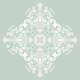 Pizzo rotondo ornamentale di vettore di Oriente Fotografie Stock