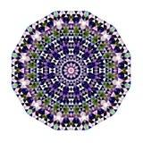 Pizzo rotondo ornamentale triangolare Fotografie Stock Libere da Diritti
