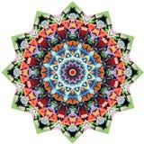 Pizzo rotondo ornamentale triangolare Fotografia Stock