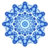 Pizzo rotondo ornamentale triangolare Immagine Stock Libera da Diritti