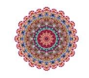 Pizzo rotondo ornamentale triangolare Immagini Stock Libere da Diritti