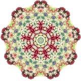 Pizzo rotondo ornamentale triangolare Fotografia Stock Libera da Diritti