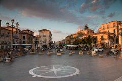 Pizzo, small town in Italy stock image