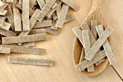 Pizzoccheri italiensk pasta arkivfoton