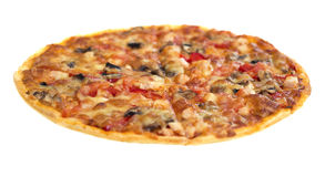 Pizzy italiano (horyzontalny widok) Fotografia Stock