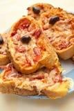 pizzy kanapka Fotografia Stock