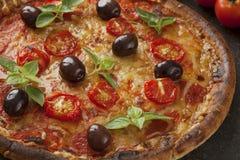 Pizzy margarita obraz stock