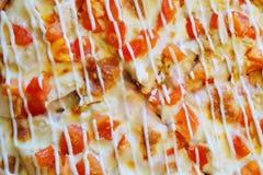 Pizzy polewy tło Zdjęcie Royalty Free