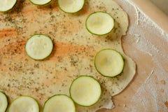 Pizzy przygotowanie Fotografia Stock