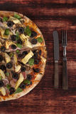 Pizzy tło Zdjęcie Royalty Free