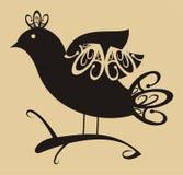 Pájaro abstracto Imagen de archivo libre de regalías