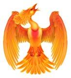 Pájaro del fuego de Phoenix Fotografía de archivo