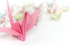 Pájaros de papel Imagenes de archivo