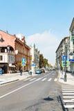 Pjatnitskaya street in Moscow after reconstruction Royalty Free Stock Photo
