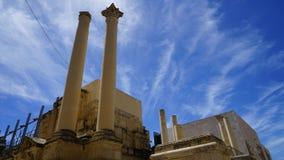 Pjazza Teatru Rjal, Malta Immagine Stock Libera da Diritti