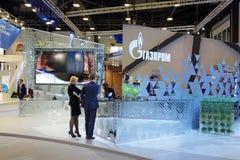 PJSC Gazprom Lizenzfreies Stockfoto