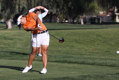 PK Kongkraphan en el torneo 2015 del golf de la inspiración de la ANECDOTARIO foto de archivo