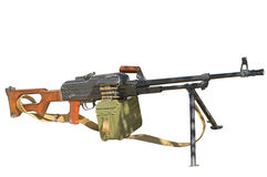 PK Machine gun. The PK Machine gun Kalashnikov royalty free stock photos