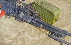 pk Maszynowego pistoletu kałasznikow Zdjęcia Stock
