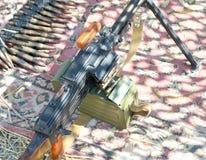 PK Maszynowy pistolet Obraz Stock