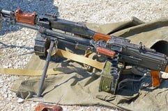 PK Maszynowy pistolet Zdjęcie Stock