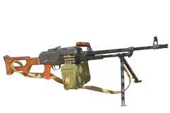 PK Maszynowy pistolet Zdjęcia Royalty Free