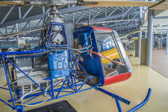 Pk x-1 van Kjeller helikopter Stock Afbeelding