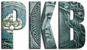 PKB, Produkt Krajowy Brutto - prodotto interno lordo, P.I.L. Fotografia Stock