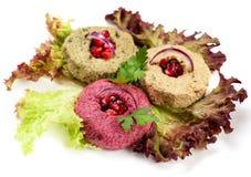 Pkhali appetizer Stock Image