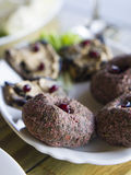 Georgian cuisine: pkhali. Royalty Free Stock Photo