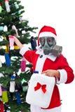 Plástico - é fantástico para o Natal - conceito ambiental Fotografia de Stock Royalty Free