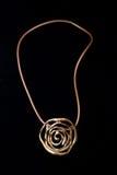 Plástico étnico del metal del collar Imagen de archivo libre de regalías