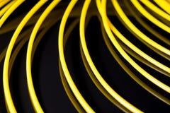 Plástico amarelo do ABS para a impressora 3D Imagem de Stock Royalty Free