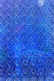 Plástico azul Imagens de Stock