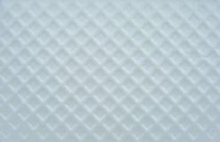 Plástico con la superficie de forma diamantada. Fotos de archivo libres de regalías