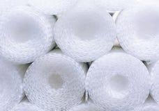 Plástico de burbujas en rollos Fondo del plástico de burbujas fotografía de archivo