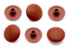 Plástico del casquillo apenas para la decoración. Imagen de archivo