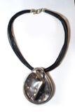 Plástico del metal del collar étnico Imagen de archivo libre de regalías