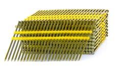 Plástico principal redondo pregos de quadro ordenados fotos de stock